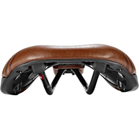 Selle Italia Novus Boost Gravel Heritage Sadel Super Flow, brown